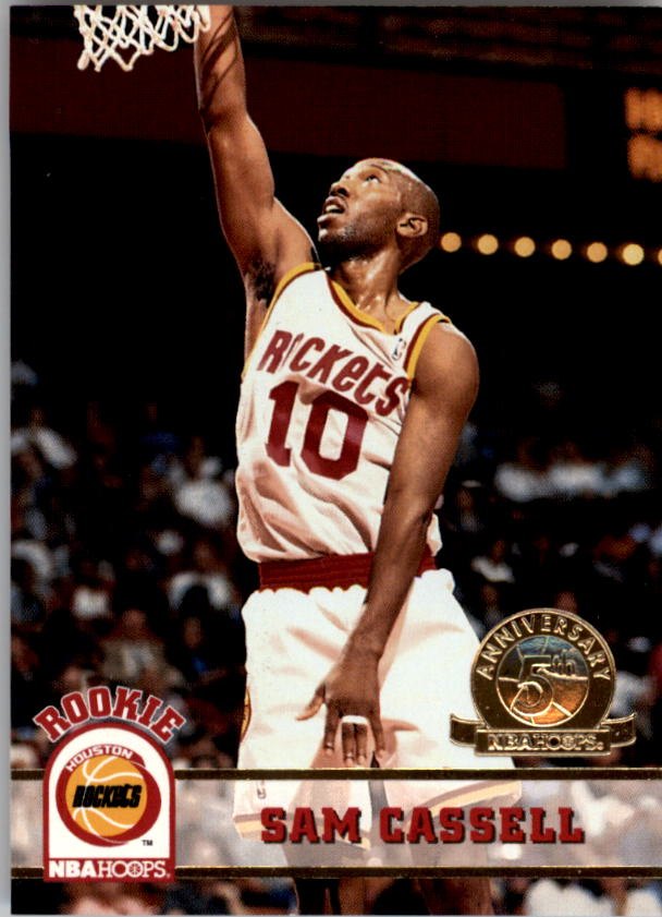1993-94 Hoops Fifth Anniversary Gold #342 Sam Cassell