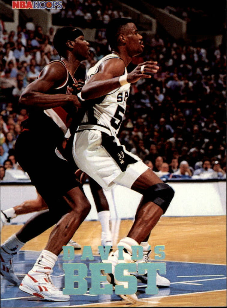 1993-94 Hoops David's Best #DB3 David Robinson
