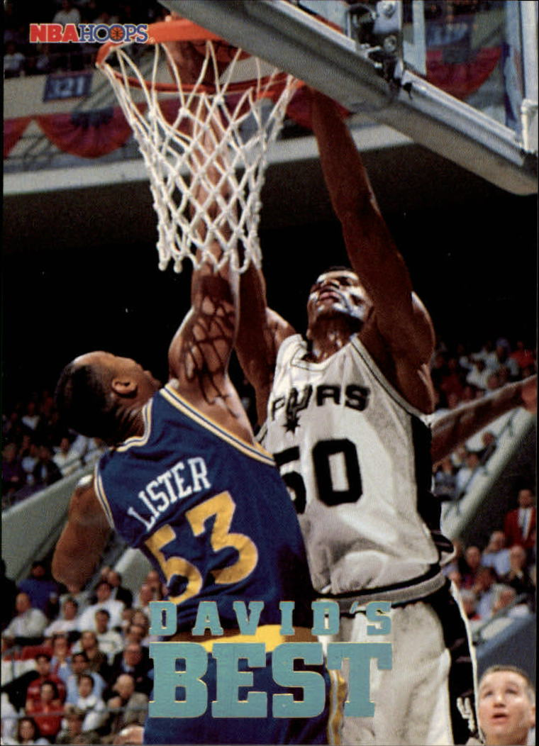 1993-94 Hoops David's Best #DB4 David Robinson