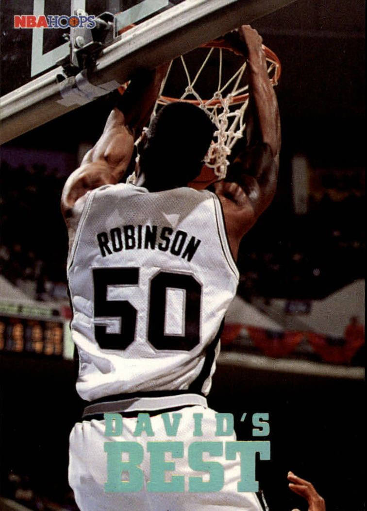 1993-94 Hoops David's Best #DB5 David Robinson