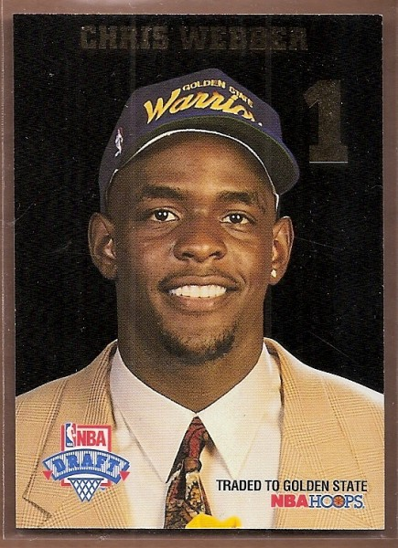 1993-94 Hoops Draft Redemption #LP1 Chris Webber