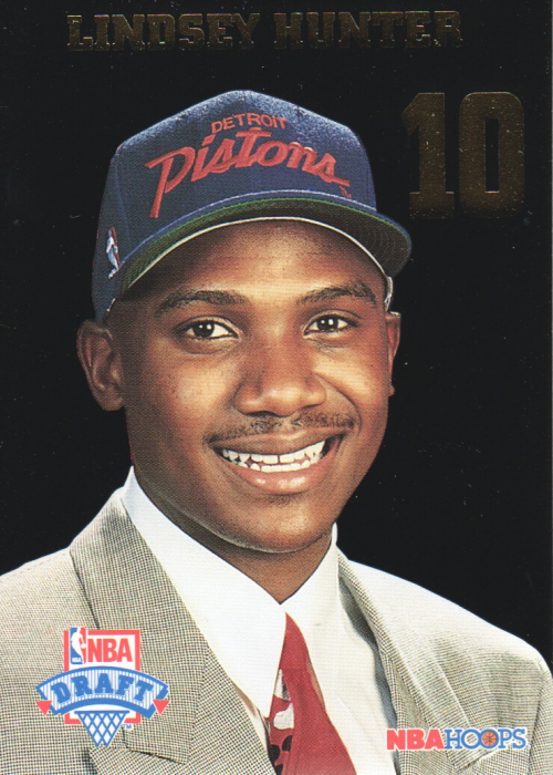 1993-94 Hoops Draft Redemption #LP10 Lindsey Hunter