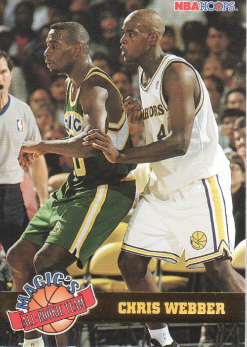 1993-94 Hoops Magic's All-Rookies #1 Chris Webber
