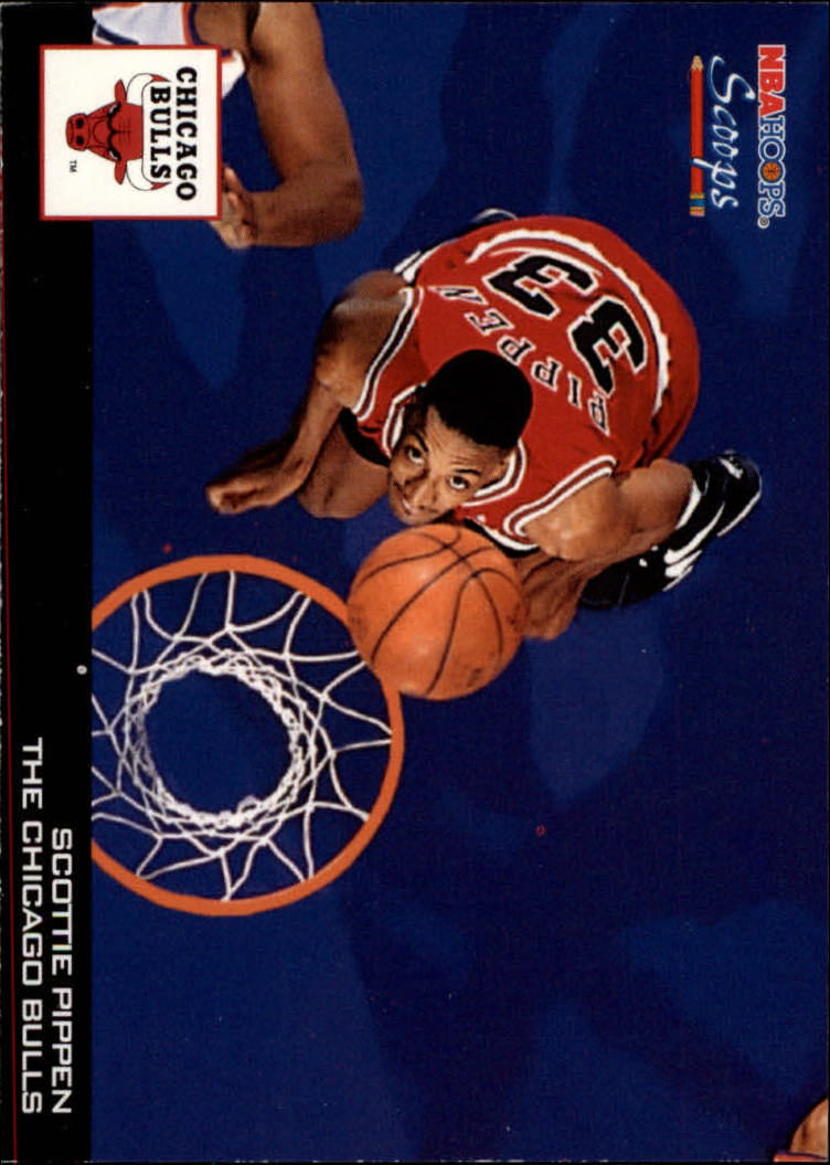 1993-94 Hoops Scoops #HS4 Scottie Pippen