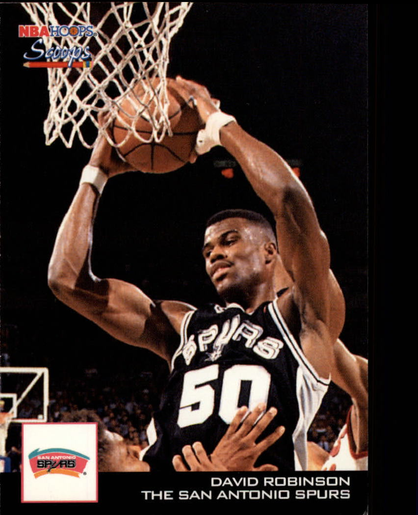 1993-94 Hoops Scoops #HS24 David Robinson