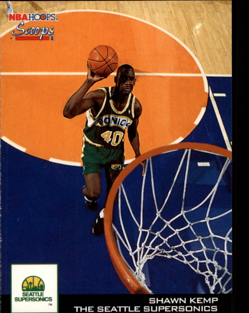 1993-94 Hoops Scoops #HS25 Shawn Kemp