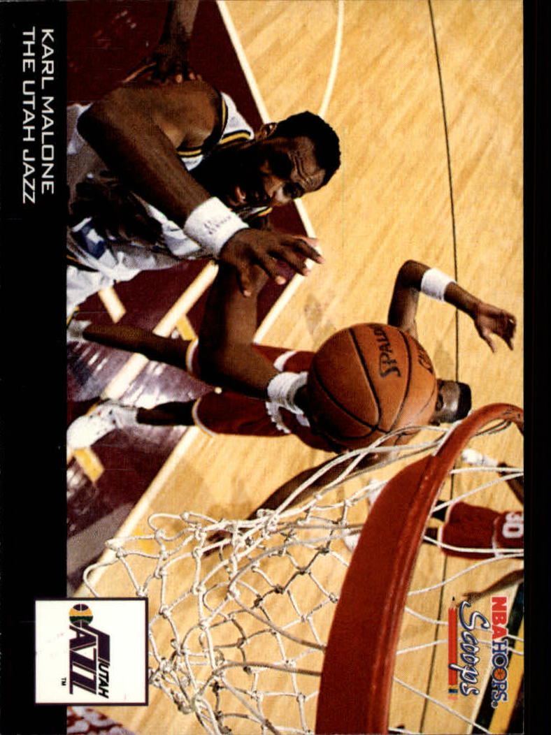 1993-94 Hoops Scoops #HS26 Karl Malone