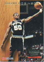 1993-94 Hoops Supreme Court #SC2 David Robinson