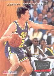 1993-94 Hoops Supreme Court #SC8 John Stockton