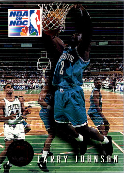 1993-94 SkyBox Premium #4 Larry Johnson PO