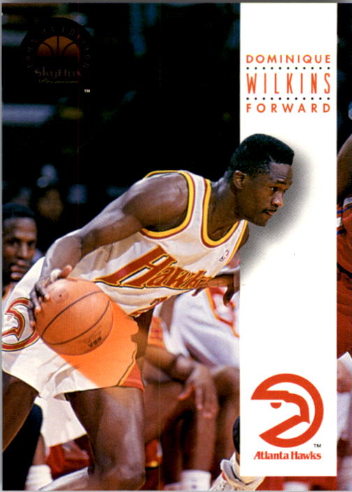 1993-94 SkyBox Premium #28 Dominique Wilkins