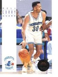 1993-94 SkyBox Premium #37 Dell Curry