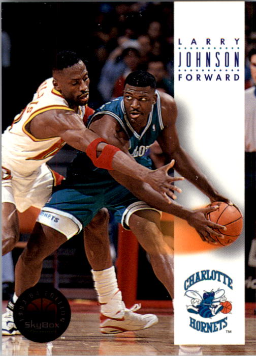 1993-94 SkyBox Premium #39 Larry Johnson