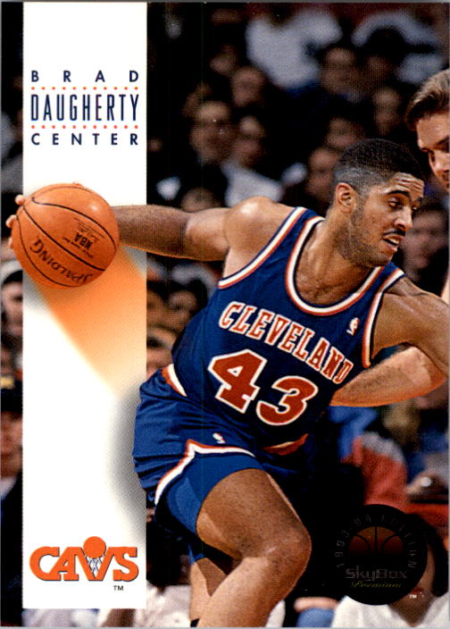 1993-94 SkyBox Premium #50 Brad Daugherty