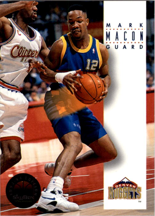 1993-94 SkyBox Premium #62 Mark Macon