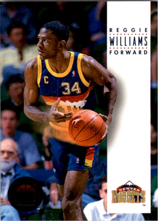 1993-94 SkyBox Premium #65 Reggie Williams