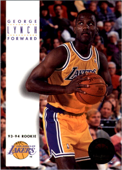 1993-94 SkyBox Premium #186 George Lynch RC