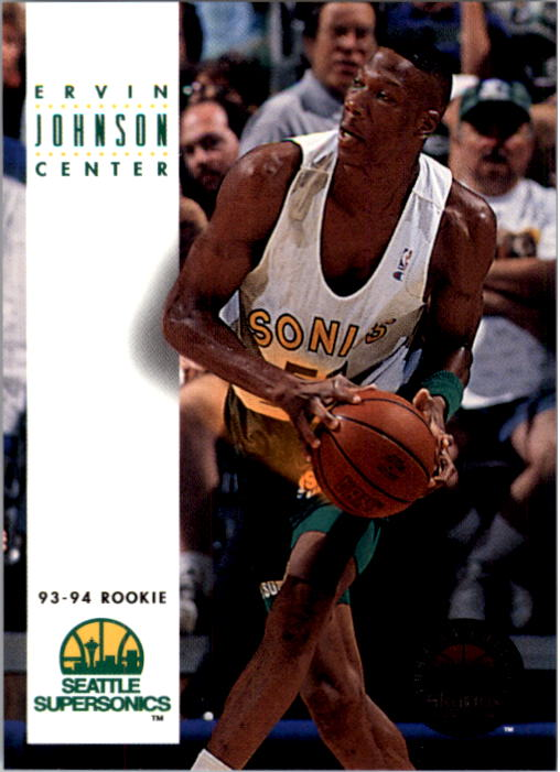 1993-94 SkyBox Premium #189 Ervin Johnson RC