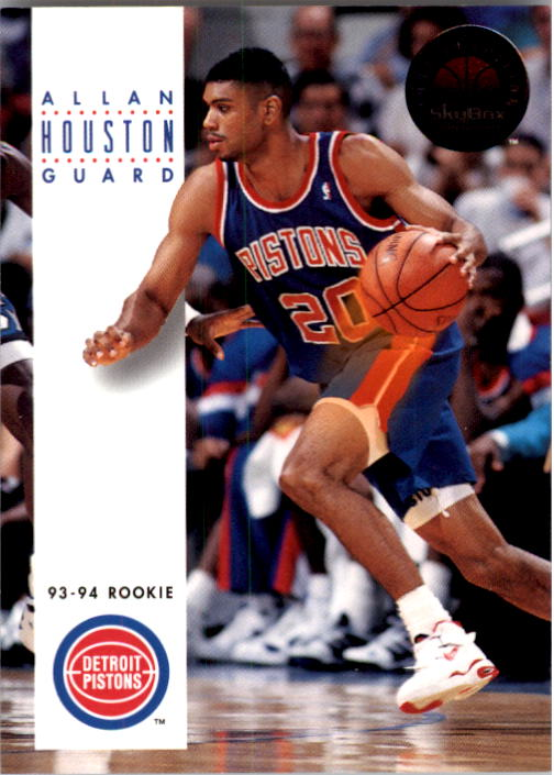 1993-94 SkyBox Premium #221 Allan Houston RC