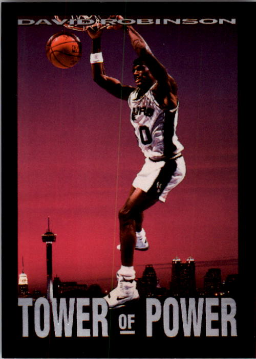 1993-94 SkyBox Premium #336 David Robinson PC