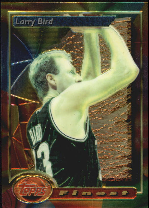 1993-94 Finest #2 Larry Bird