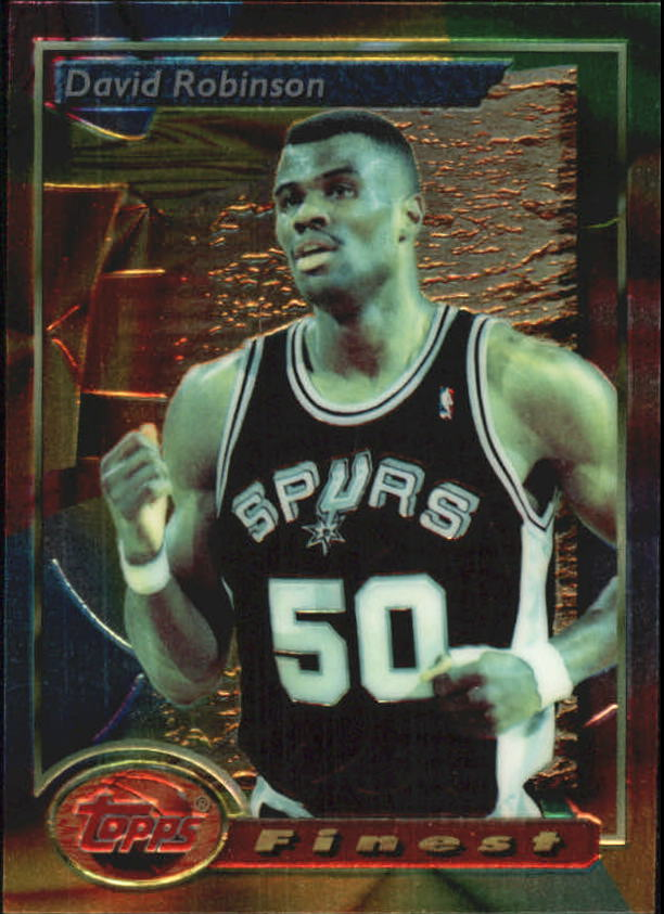 1993-94 Finest #21 David Robinson