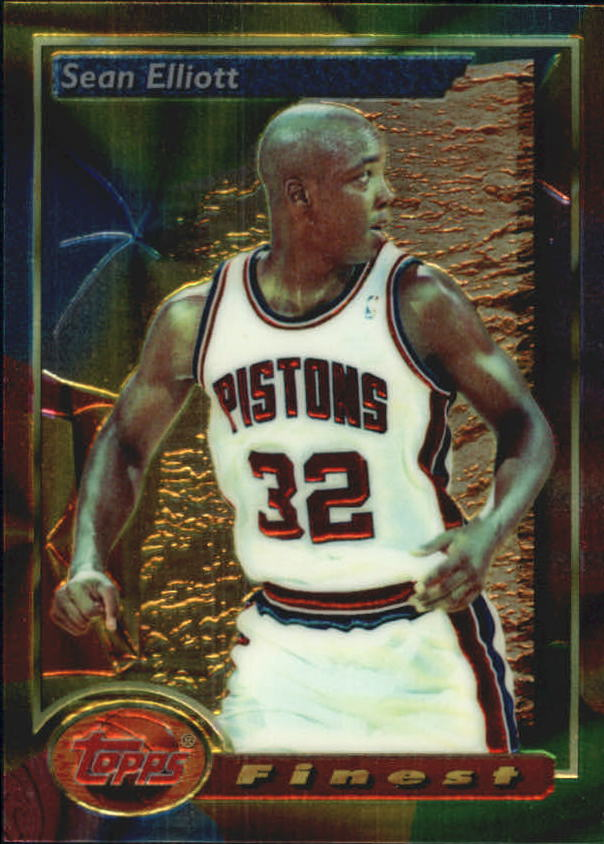 1993-94 Finest #37 Sean Elliott