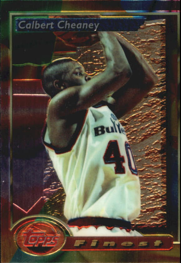 1993-94 Finest #84 Calbert Cheaney RC
