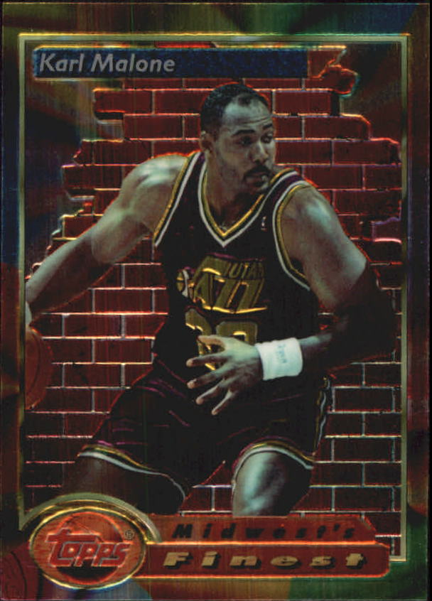 1993-94 Finest #112 Karl Malone MF