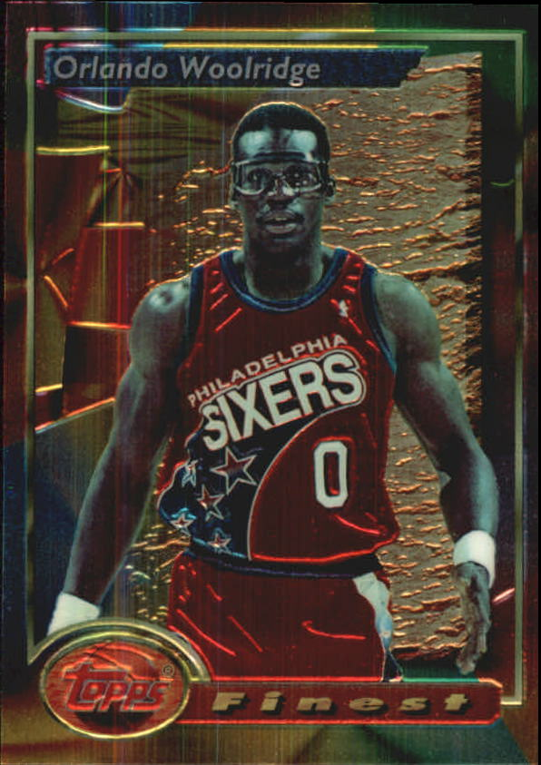 1993-94 Finest #142 Orlando Woolridge