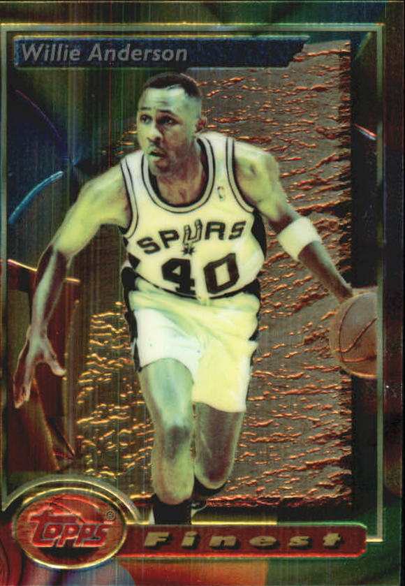 1993-94 Finest #154 Willie Anderson