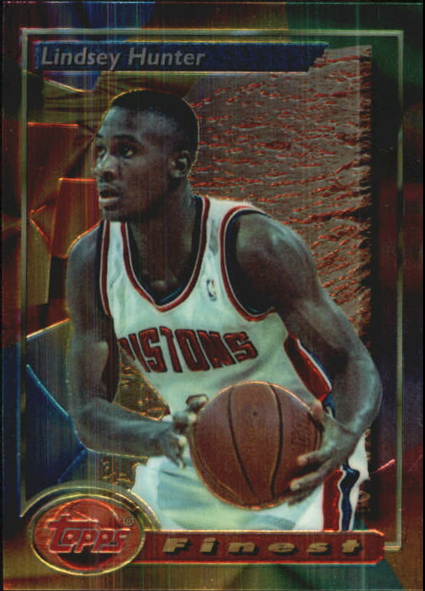 1993-94 Finest #184 Lindsey Hunter RC