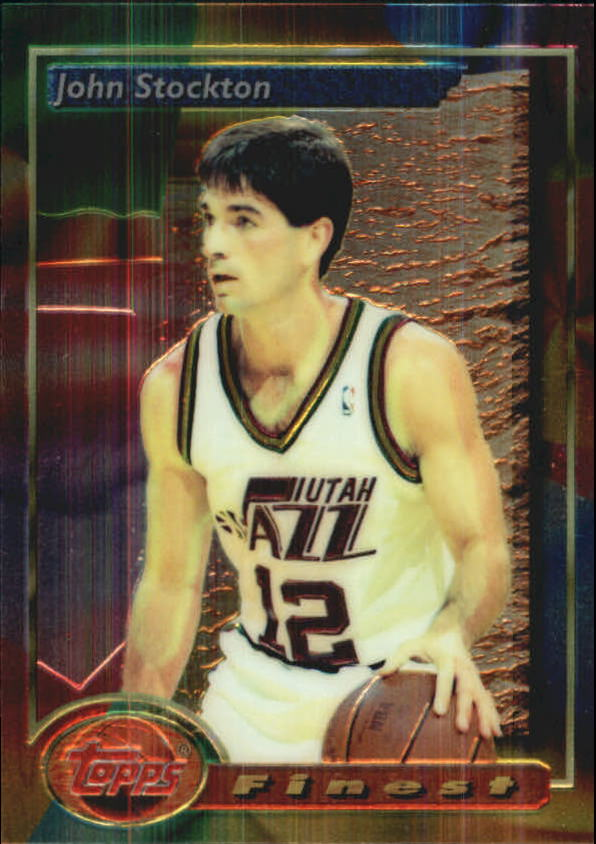 1993-94 Finest #219 John Stockton