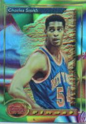 1993-94 Finest Refractors #18 Charles Smith