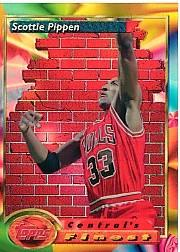 1993-94 Finest Refractors #105 Scottie Pippen CF SP