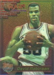 1993-94 Finest Main Attraction #24 David Robinson