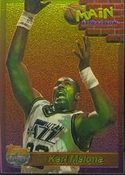 1993-94 Finest Main Attraction #26 Karl Malone