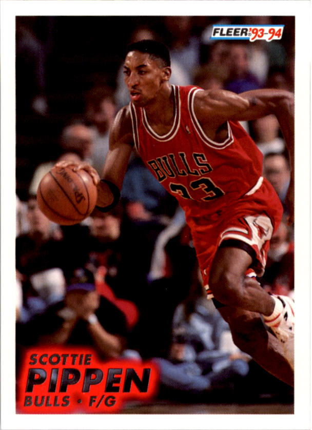 1993-94 Fleer #32 Scottie Pippen