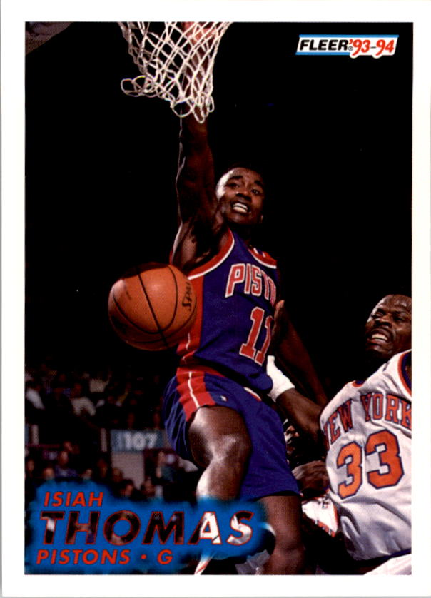 1993-94 Fleer #65 Isiah Thomas