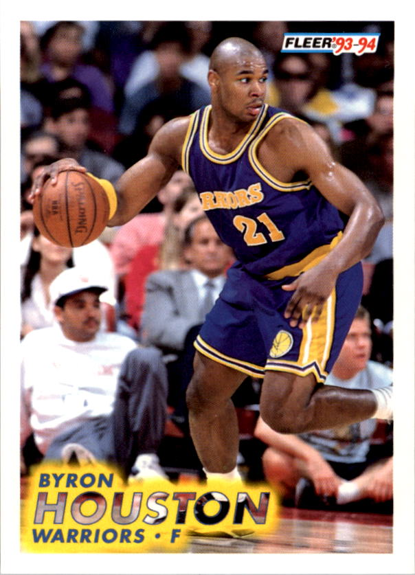 1993-94 Fleer #69 Byron Houston