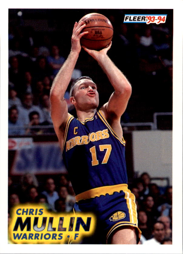 1993-94 Fleer #71 Chris Mullin