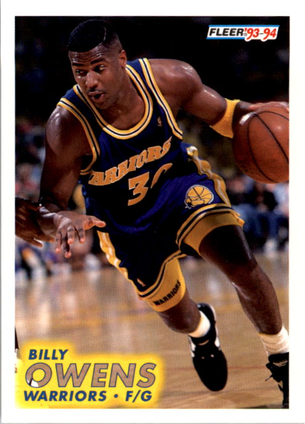 1993-94 Fleer #72 Billy Owens