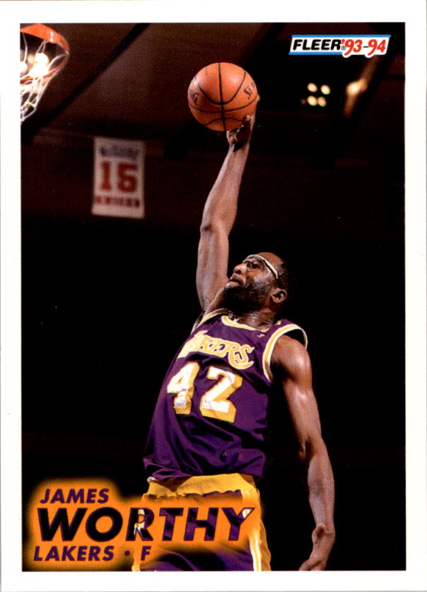 1993-94 Fleer #105 James Worthy