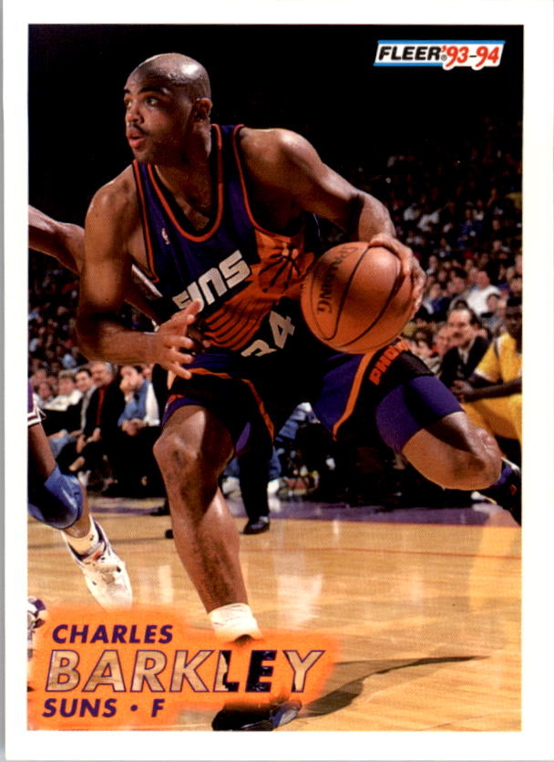 1993-94 Fleer #163 Charles Barkley