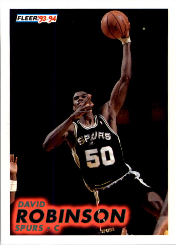 1993-94 Fleer #196 David Robinson
