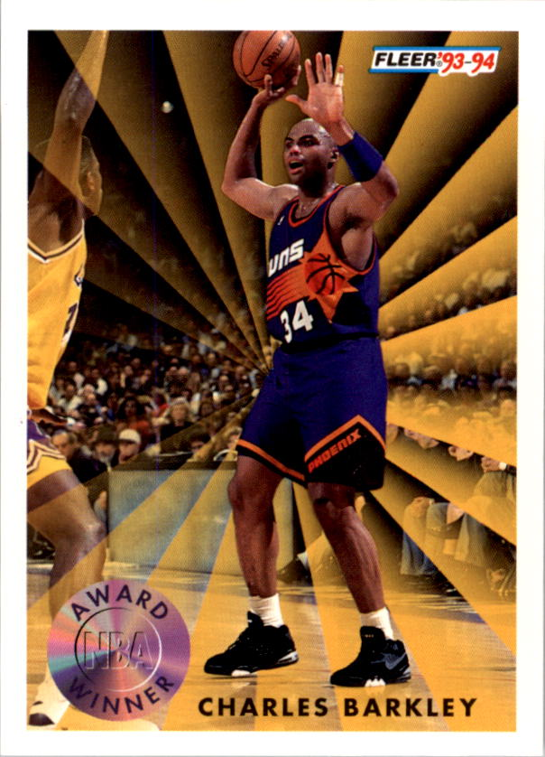 1993-94 Fleer #229 Charles Barkley AW