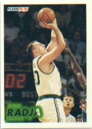 1993-94 Fleer #249 Dino Radja RC