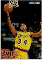 1993-94 Fleer #315 Tony Smith