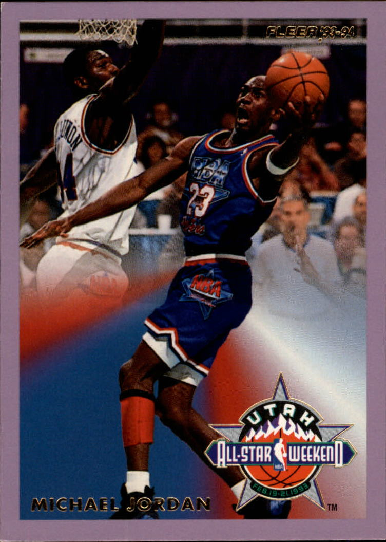 1993-94 Fleer All-Stars #5 Michael Jordan