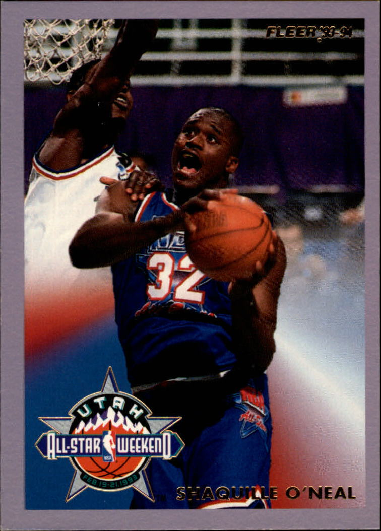 1993-94 Fleer All-Stars #7 Shaquille O'Neal